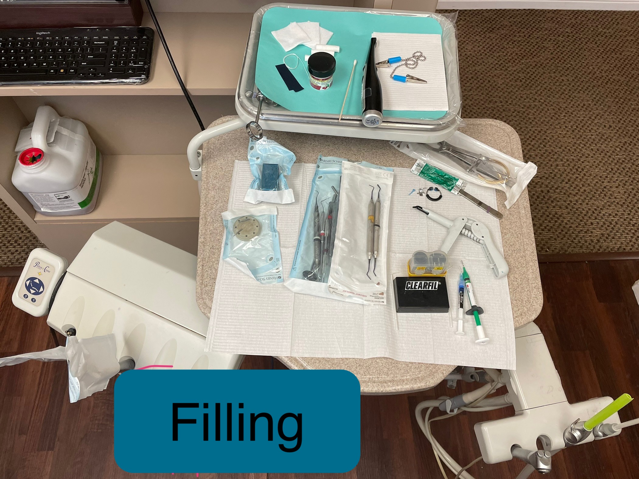 Filling Sample